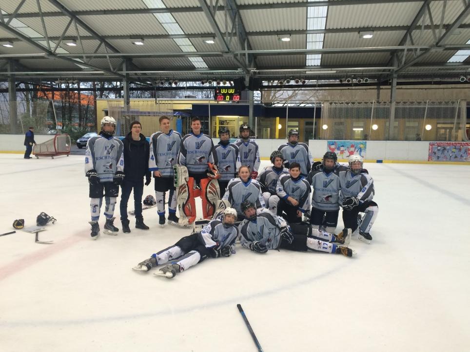 Schüler Mannschaft der Penguins